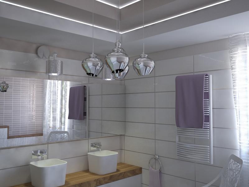 Fürdőszoba - Lakberendezés Pécs, 3D látványtervezés